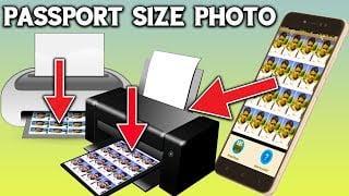 How To Make Passport Size Photo?a